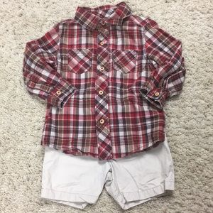 Boys Size 2T Outfit by Carter's and OshKosh